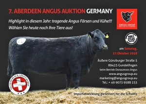 7. Aberdeen Angus Auktion Germany